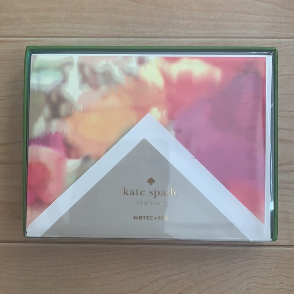 Kate Spade Giverny Floral Card Set
